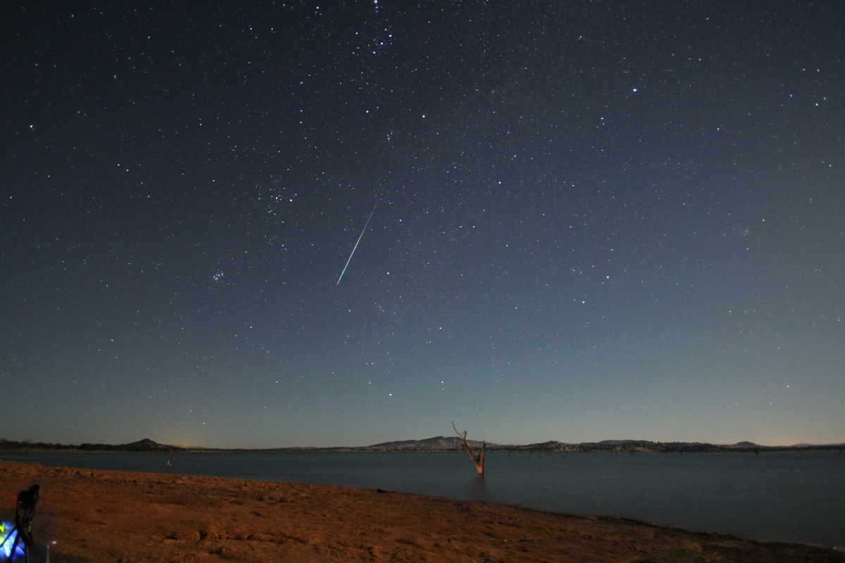 2014 Geminid Meteor Over New South Wales, Australia