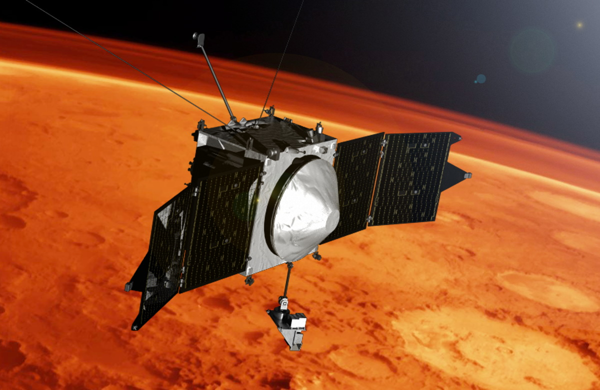 NASA Probe Piecing Together How Mars' Atmosphere Escapes ...