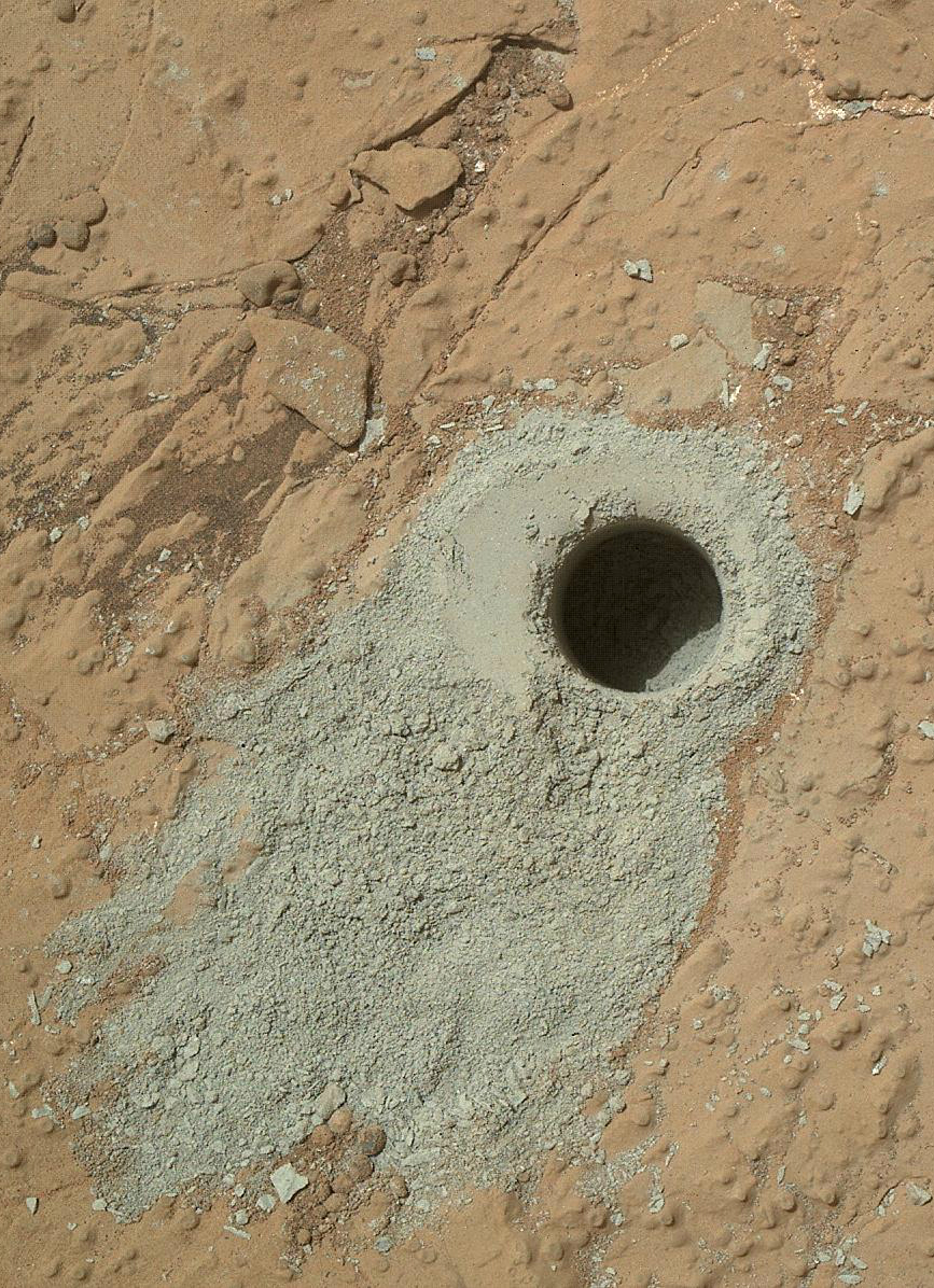 Curiosity Rover Finds Life's Building Blocks on Mars