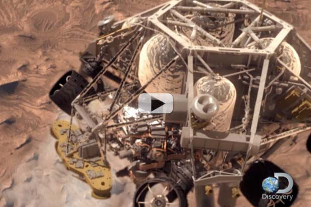 Relive Curiosity's '7 Minutes Of Terror' On Discovery Channel | Video Clip