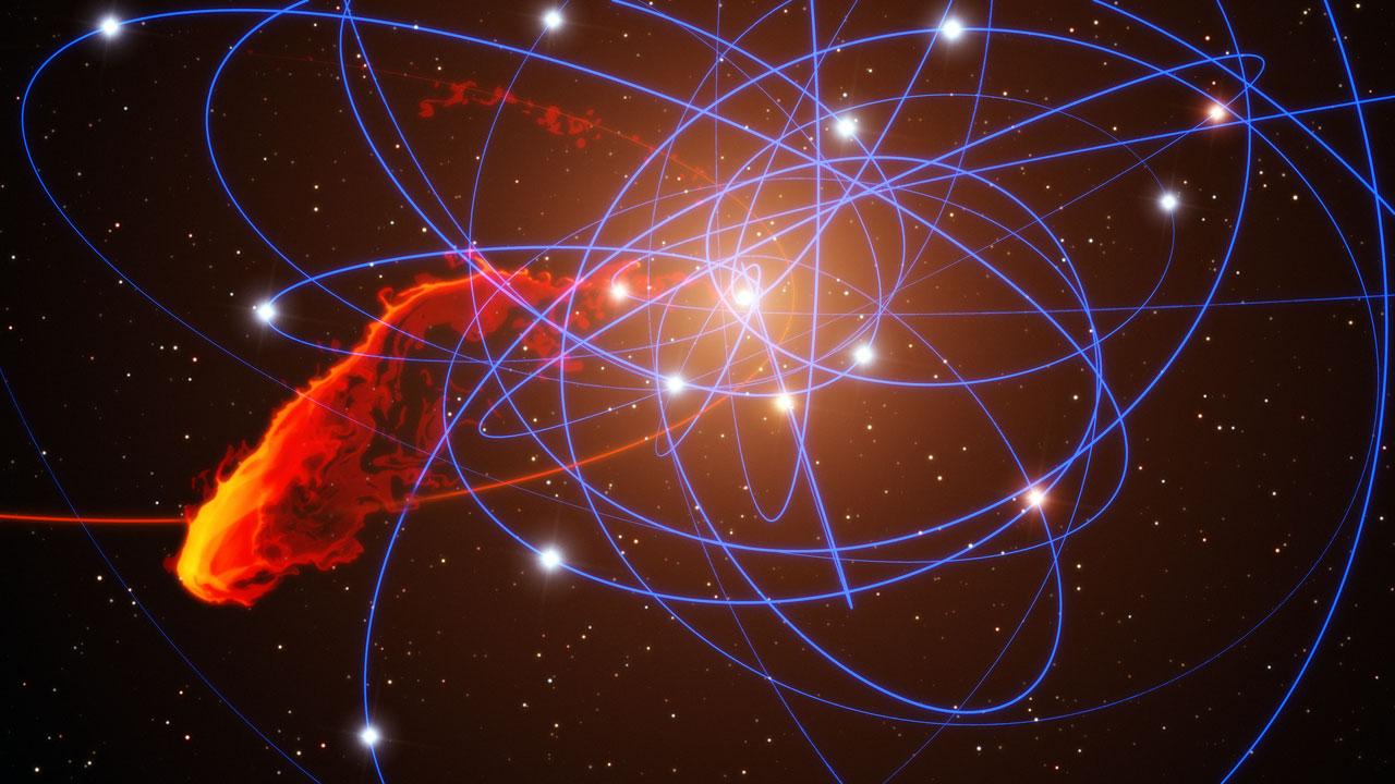 Mystery Object Appears Near Milky Way's Monster Black Hole