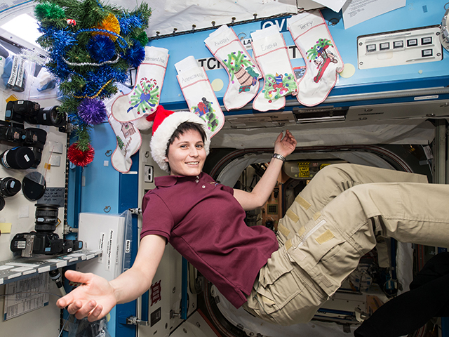Holidays in Space: An Astronaut Photo Album