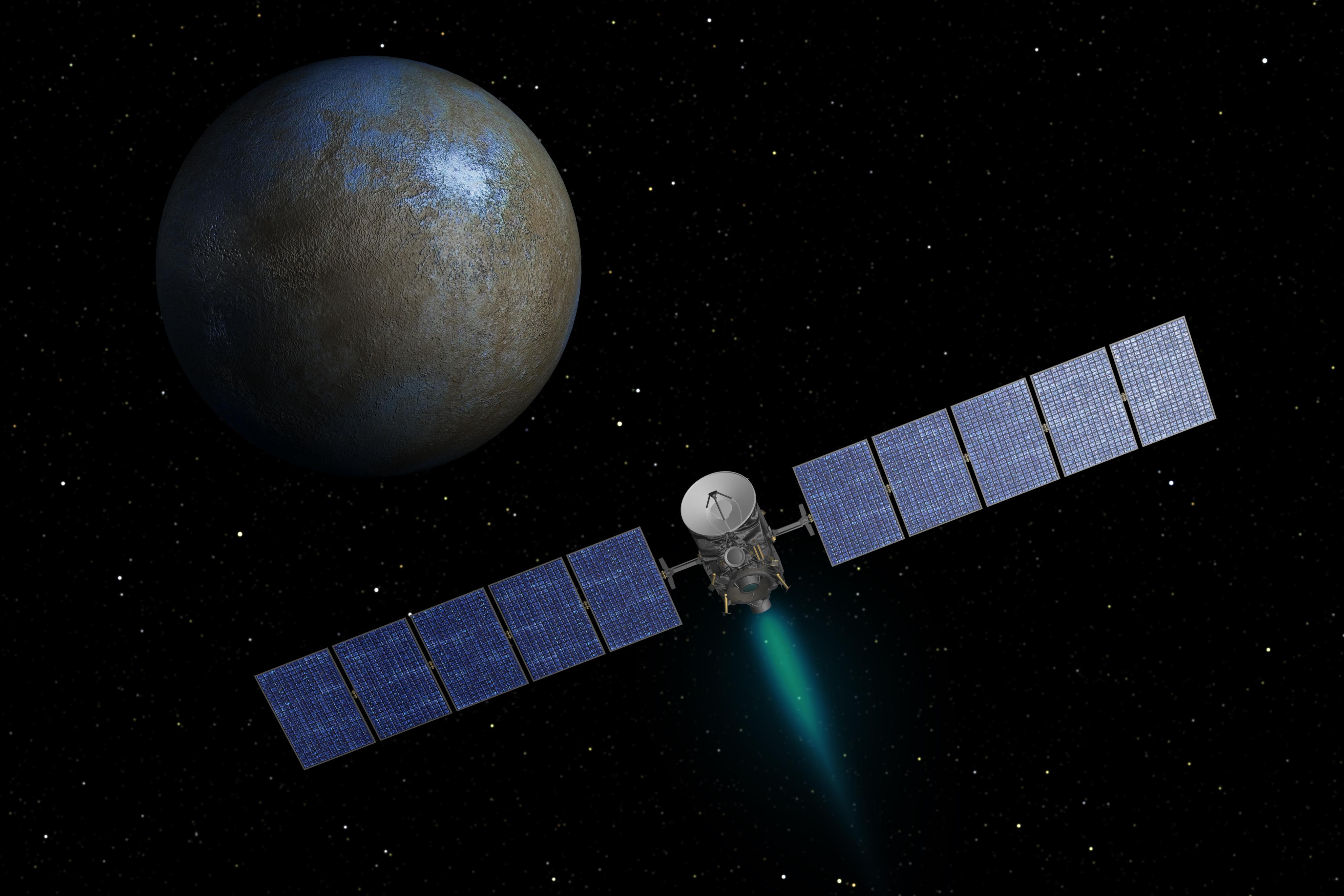 NASA Spacecraft Approaching Dwarf Planet Ceres