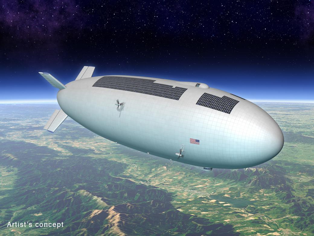 High-Altitude Airship Concept