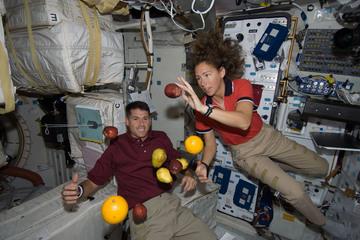 Die Erde, in der wir leben und der Raum, der die Welt ist - Seite 38 Weightlessness-sandra-magnus-astronaut-fruit