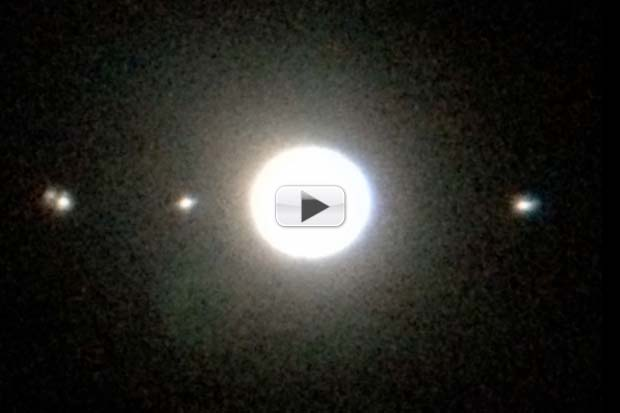 Jupiter's Moons Put On Show In January 2015 Skywatching | Video