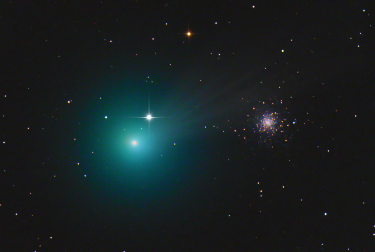 Green Comet Lovejoy Now Visible in 'Heavenly River' of Stars: Where to Look