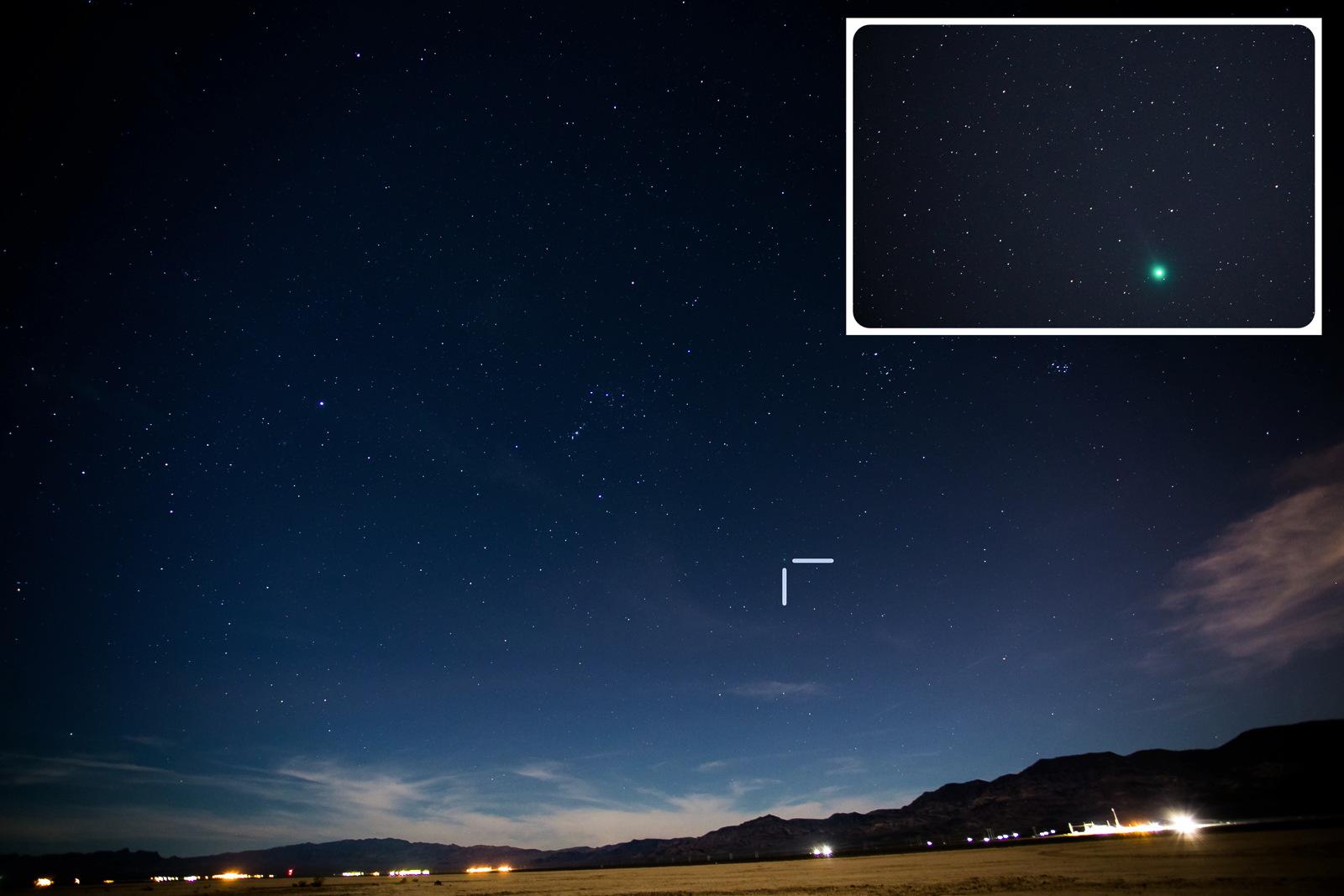 Comet Lovejoy C/2014 Q2 by Leavitt