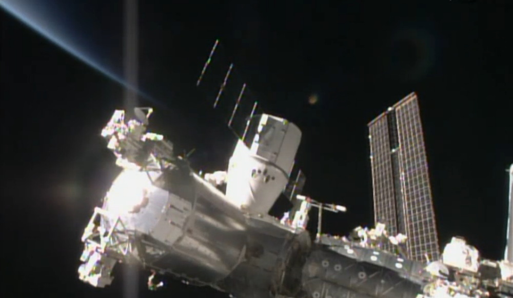 SpaceX Dragon Capsule Delivers Fresh Supplies to Space Station