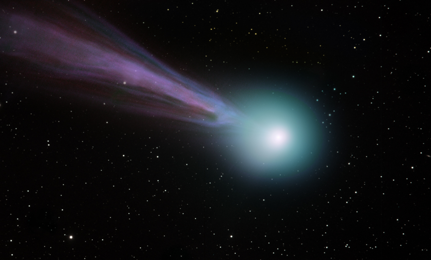 Comet Lovejoy Photograph by Howes