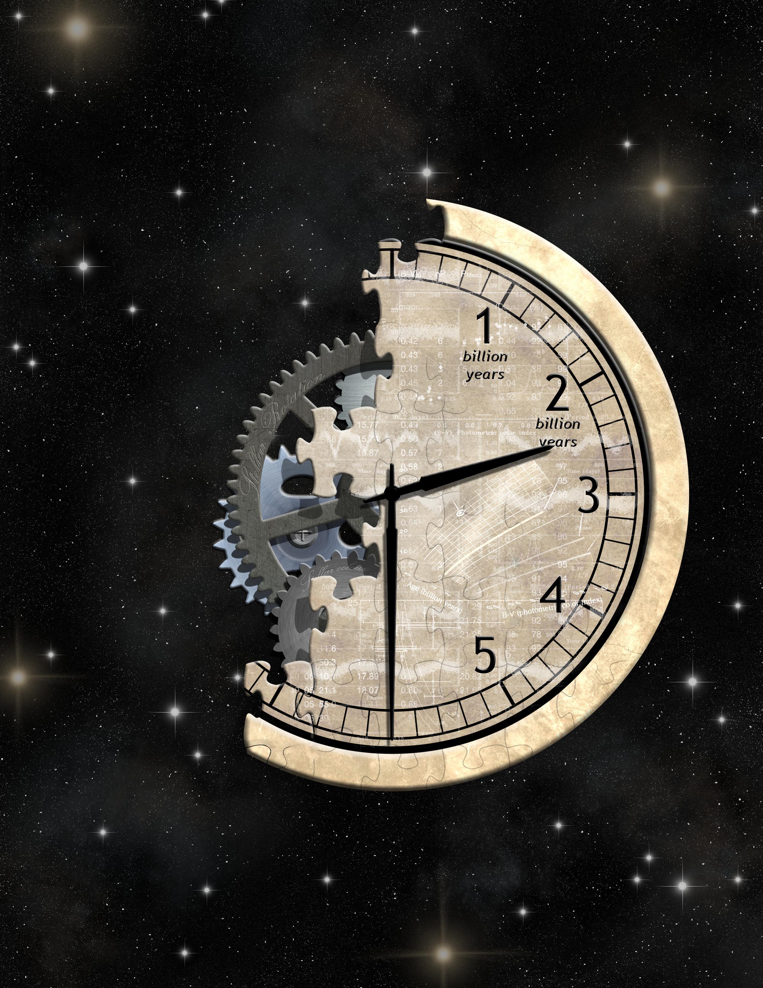 Artist's Impression of Cosmic Clock