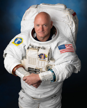 NASA astronaut Scott Kelly is scheduled to launch to the International Space Station for the first yearlong mission on the orbiting outpost. Image uploaded Jan. 16, 2015.