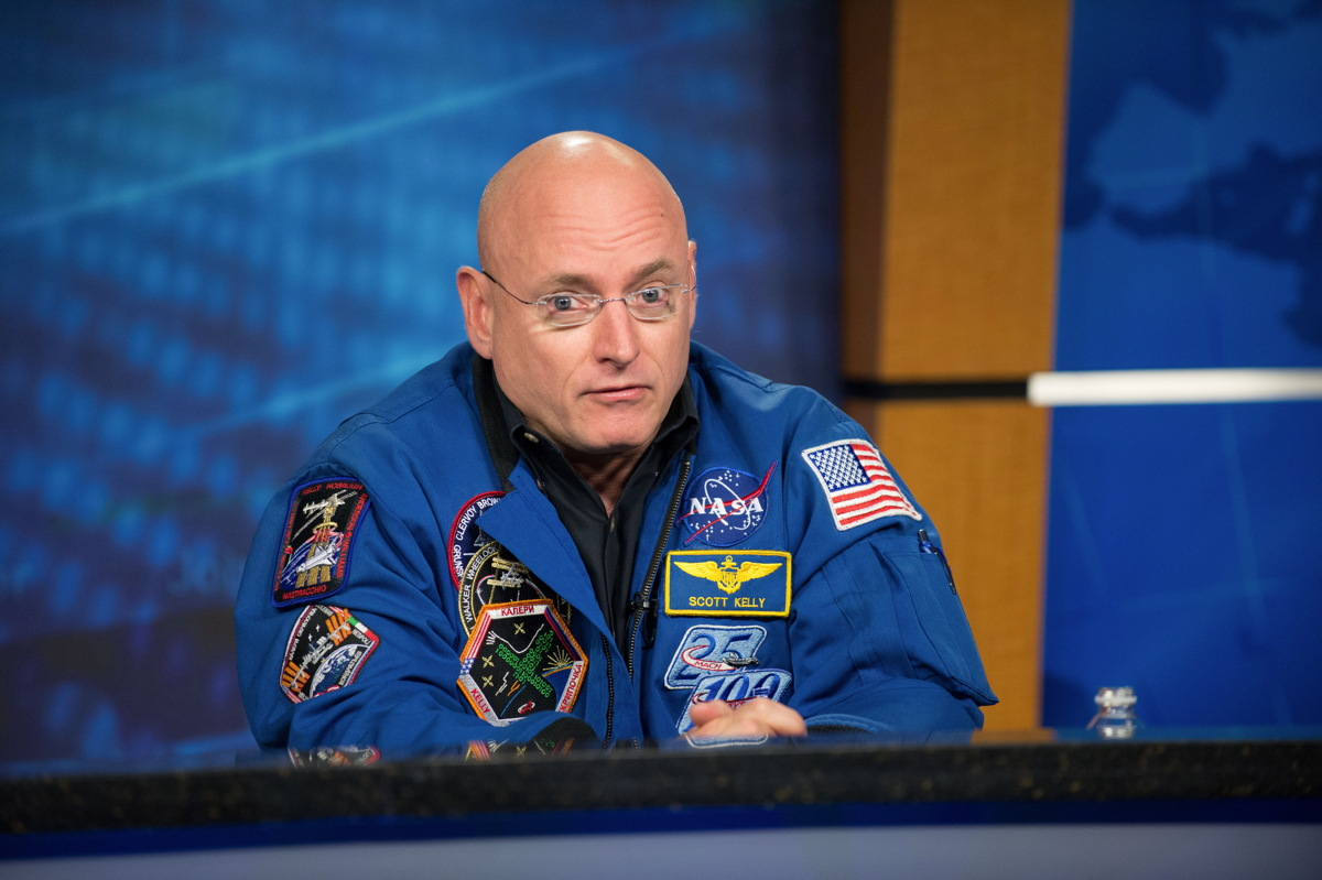 Scott Kelly at One-Year Mission Press Conference