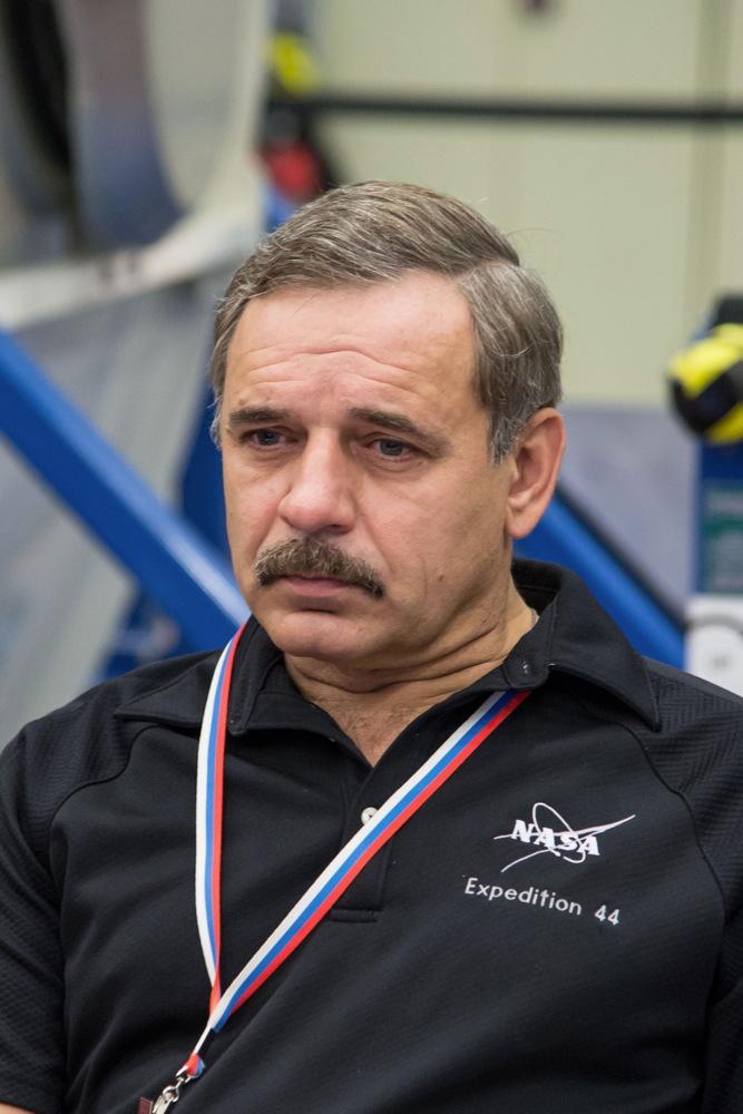 Kornienko During Emergency Training