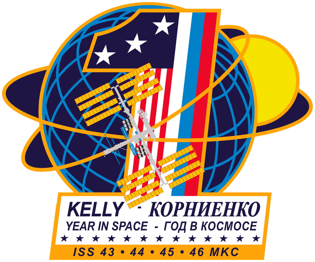 One-Year Mission Patch