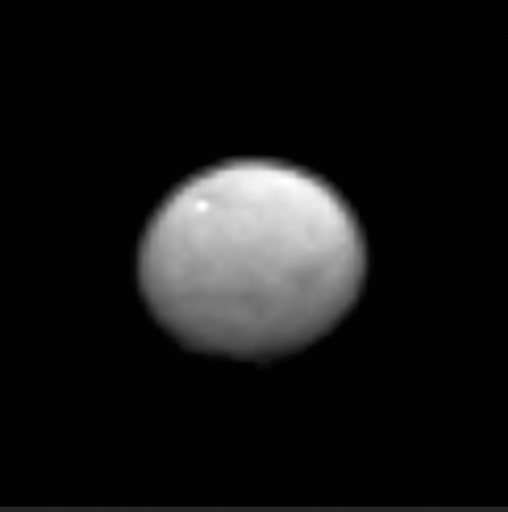 Dwarf Planet Ceres by Dawn Spacecraft Zoom-In 2