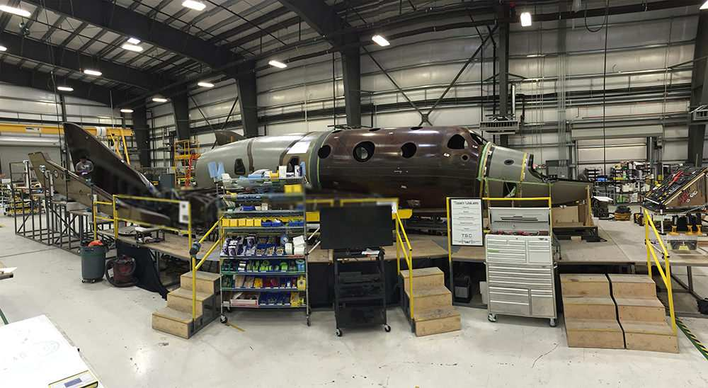 Virgin Galactic's Second SpaceShipTwo