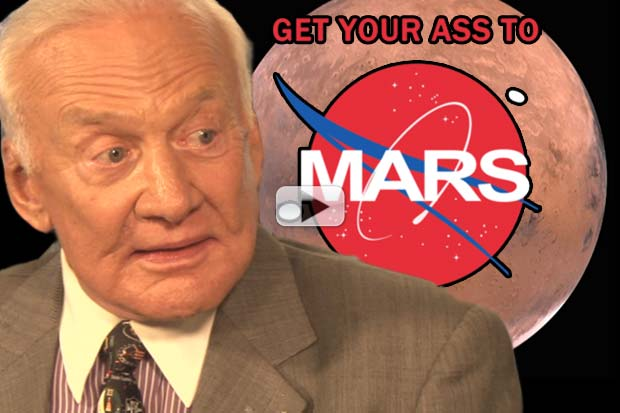 Buzz Aldrin: How To Get Your Ass To Mars | Video