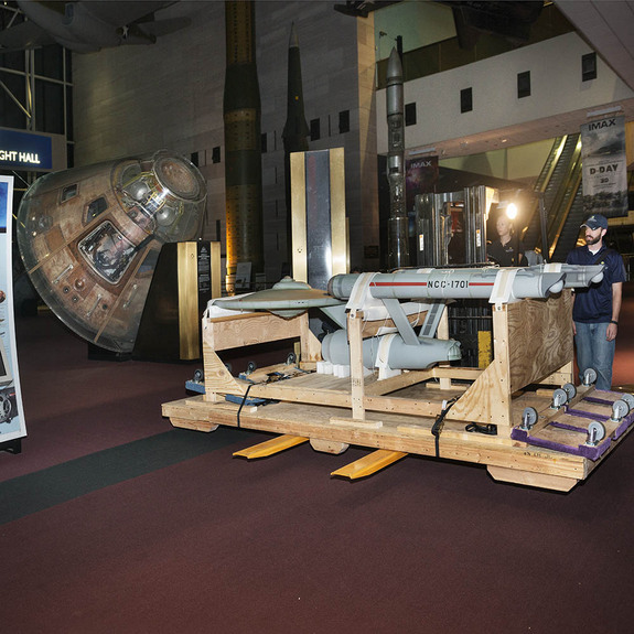 "Smithsonian National Air and Space Museum is restoring ""Star Trek's"" starship Enterprise is being restored for a 2016 exhibit opening."