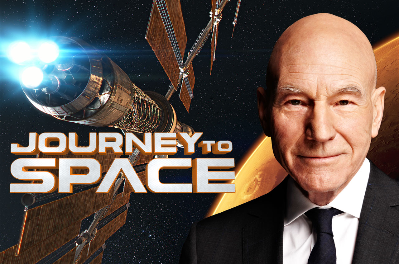 Sir Patrick Stewart Narrates 'Journey to Space'