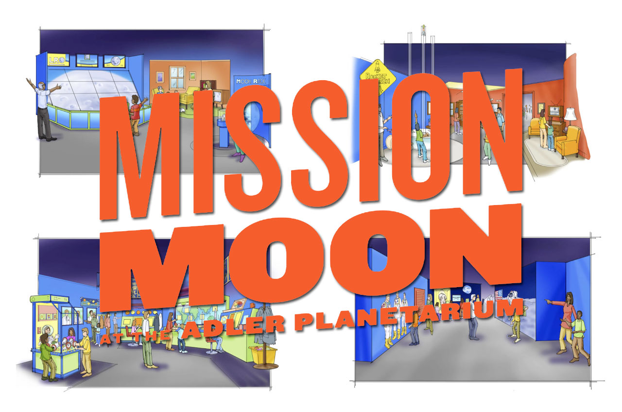 Adler Planetarium's 'Mission Moon' Exhibit