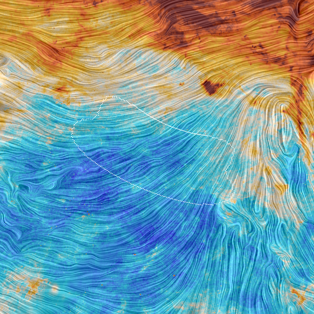 Evidence for Cosmic Inflation Theory Bites the (Space) Dust
