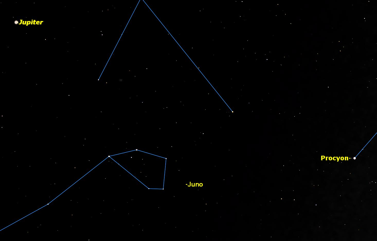 asteroid in the sky - photo #21