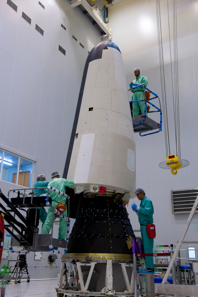 IXV Is Prepared for Launch