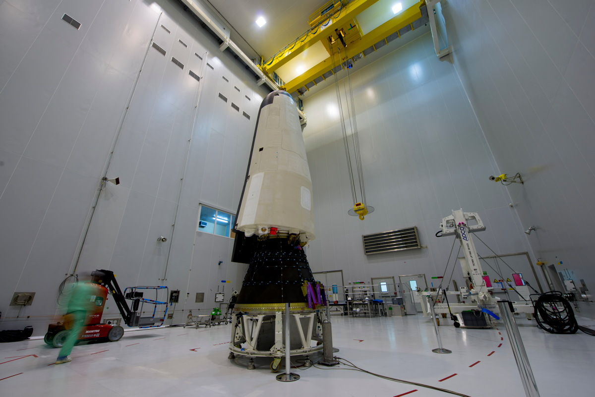IXV Installed on Payload Adapter #2