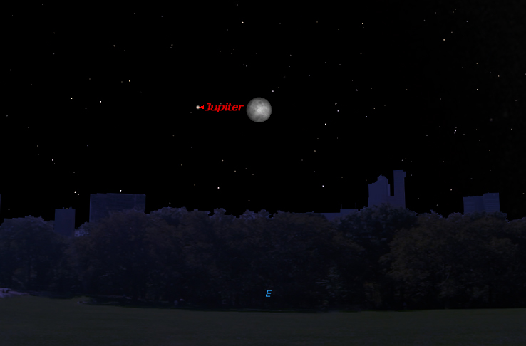 Jupiter and the Moon Shine Together Tonight: How to See It