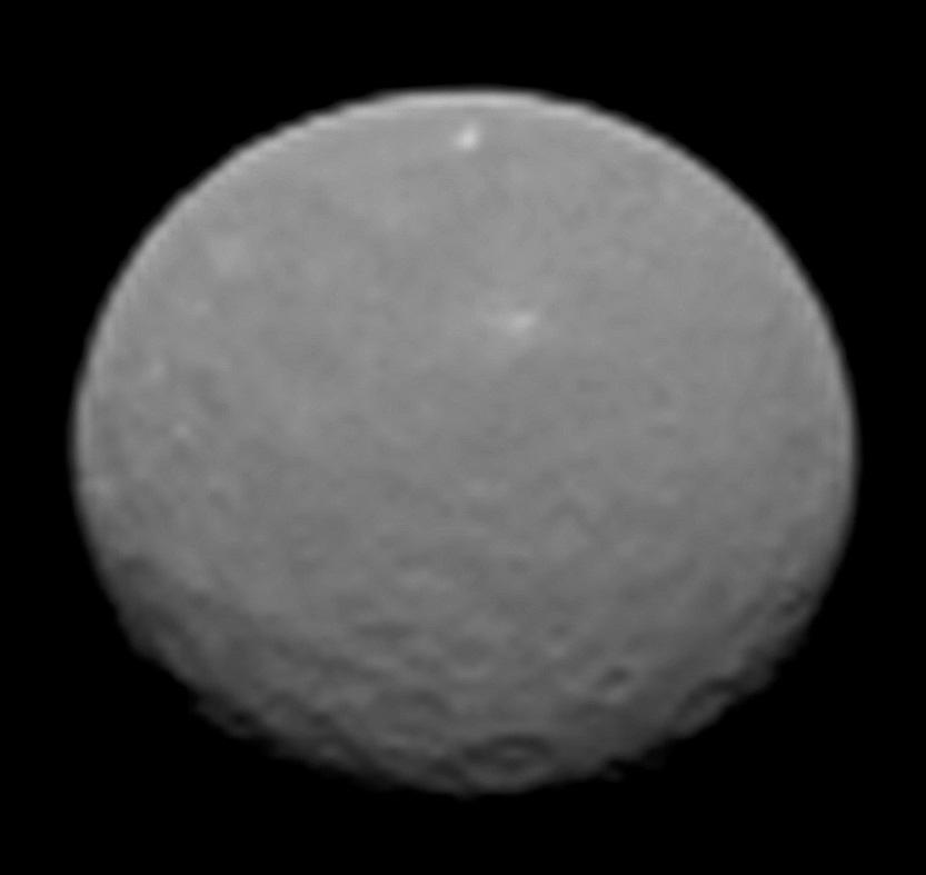 Dawn Image of Ceres, Feb. 4, 2015