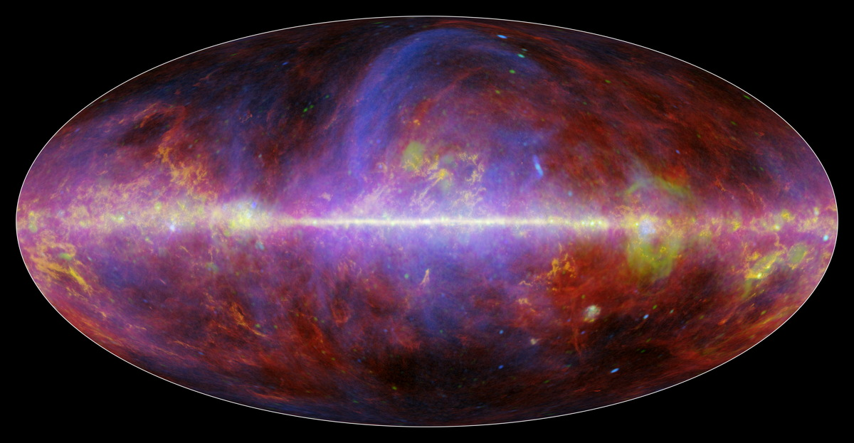 Spectacular Milky Way Maps Show Our Galaxy in New Light
