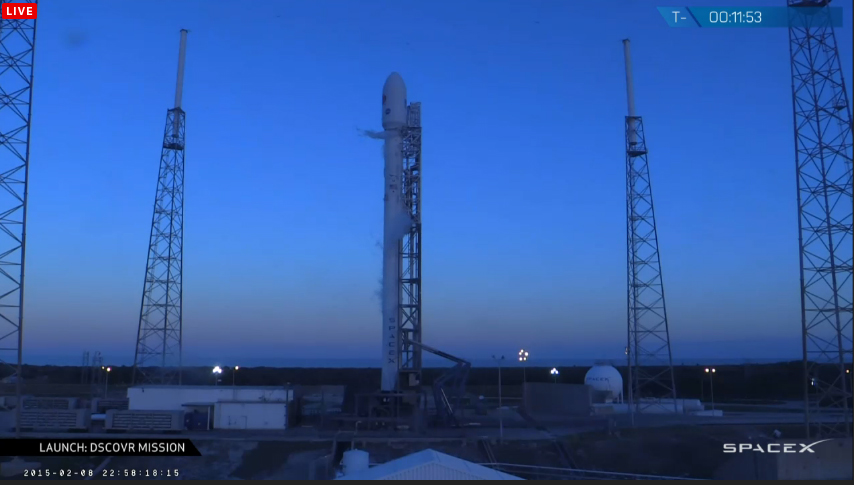 SpaceX Launch of DSCOVR Space Weather Satellite Delayed by Radar Glitch
