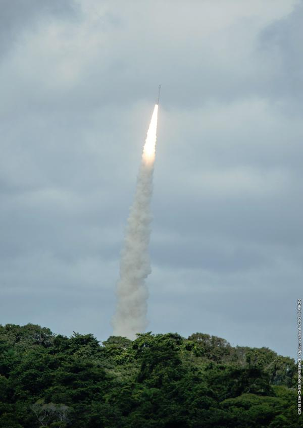 Vega VV04 Rocket Launches ESA's IXV