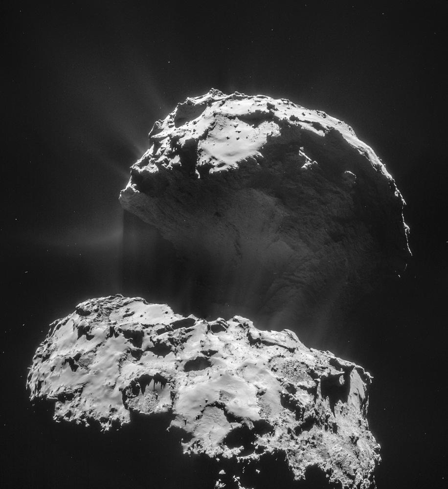 Comet Jets Up Close