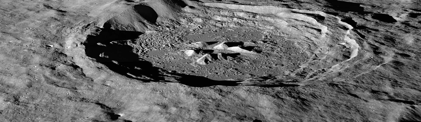 Lunar Reconnaissance Orbiter Image of Hayn Crater