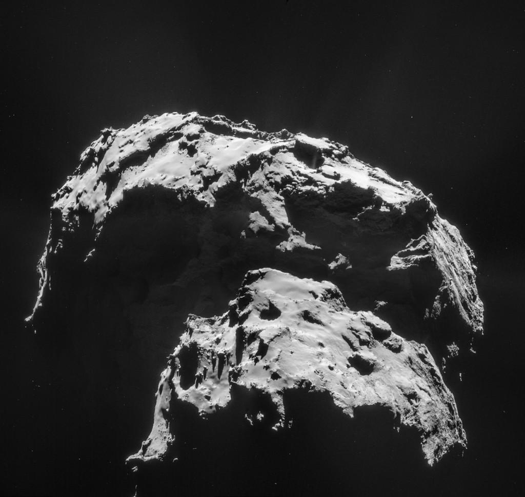 Comet 67P: Target of Rosetta Mission
