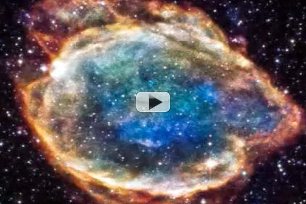 Supernova CSI - Colorized X-Ray Reveals Star-Killer's Shape | Video