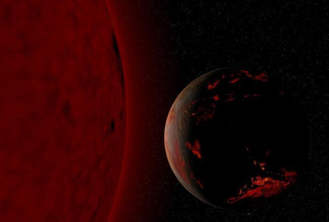 Uninhabitable Earth and red giant sun