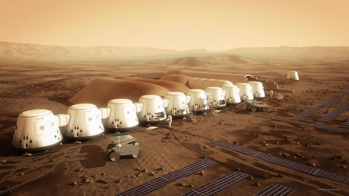 Bilderesultat for mars colony