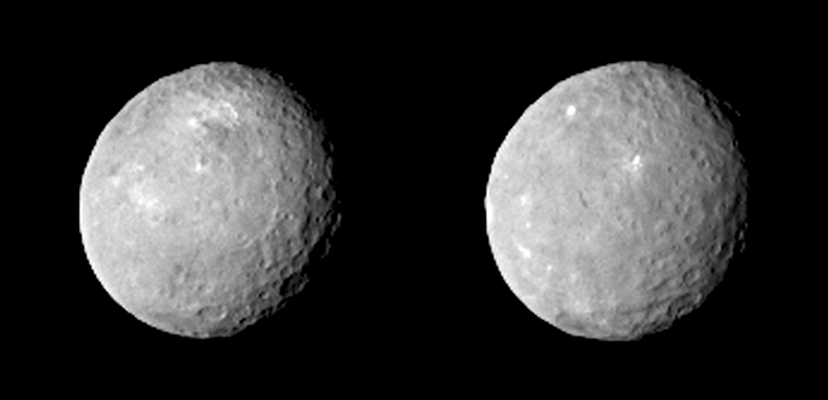 Mysterious Bright Spots Shine on Dwarf Planet Ceres (Photos)