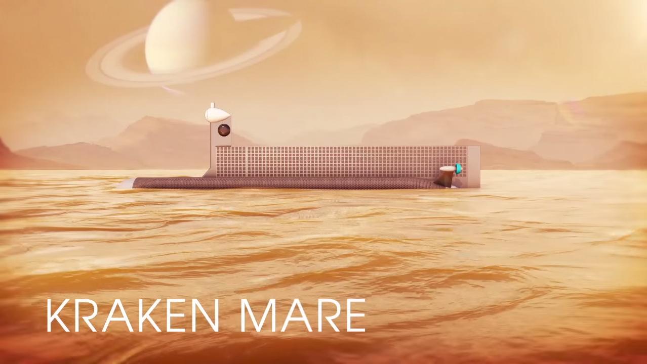 NASA Space Submarine Could Explore Titan's Methane Seas