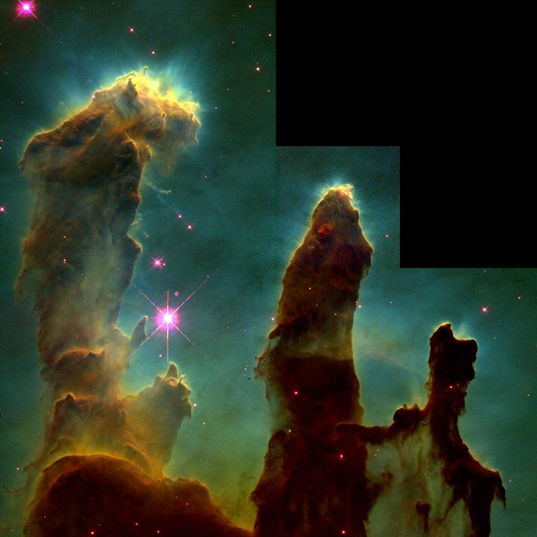 1995: Eagle Nebula, M16