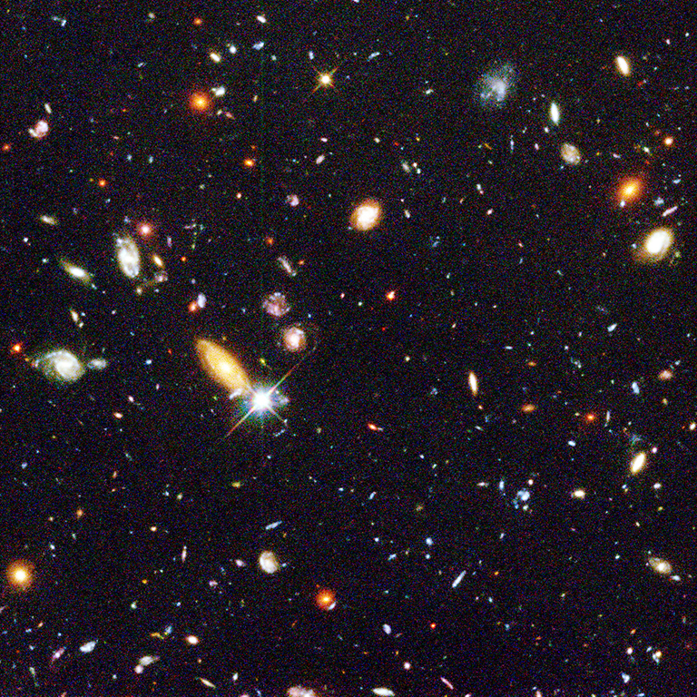 1996: Hubble Deep Field