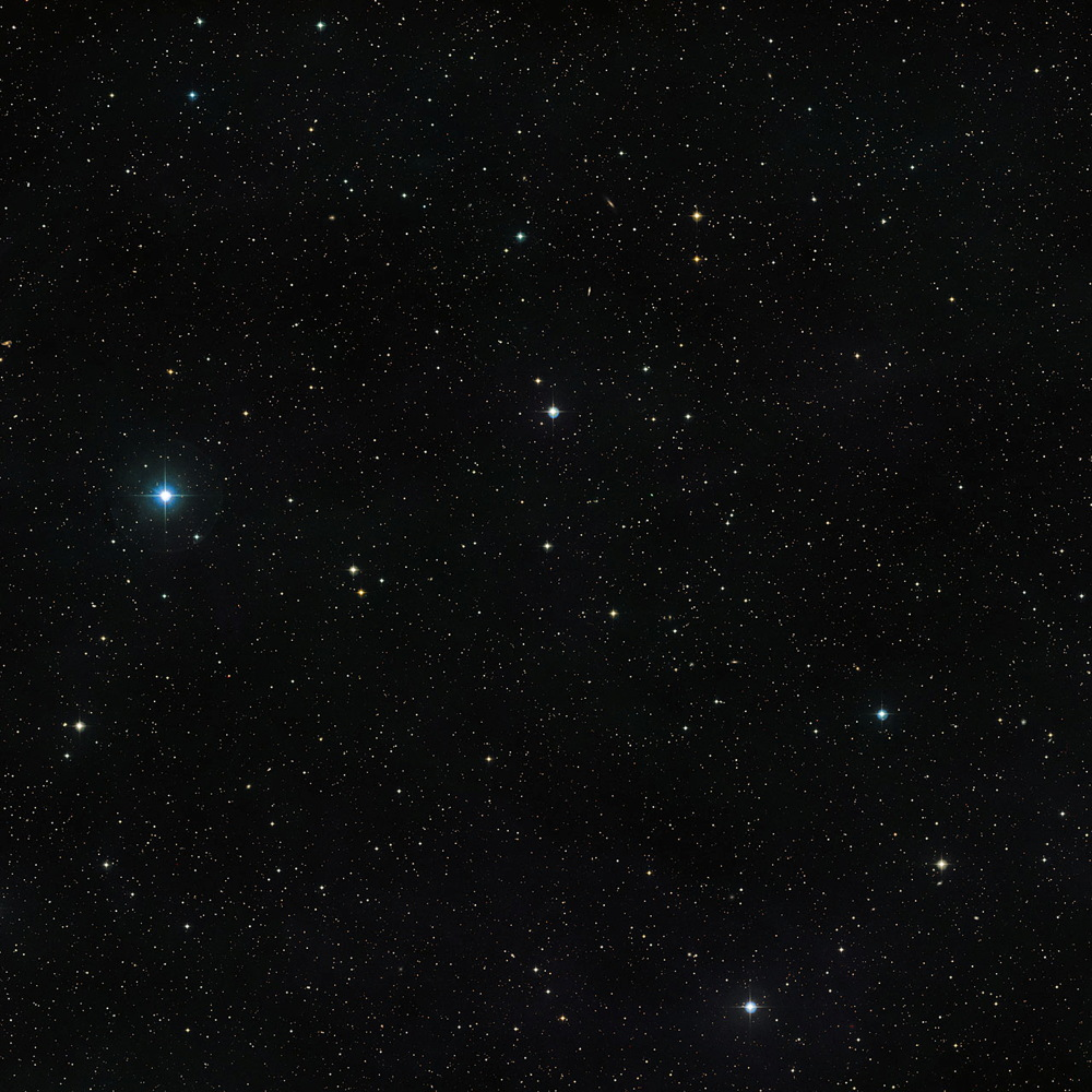 Area Around the Double Star V471 Tauri