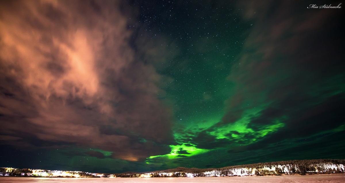 Aurora Over Kiruna, Sweden