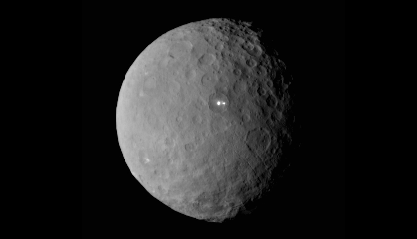 Dimmer Companion Found for Bright Spot on Ceres