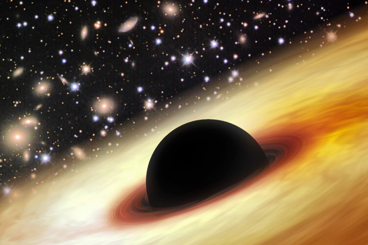 Monster Black Hole Is the Largest and Brightest Ever Found