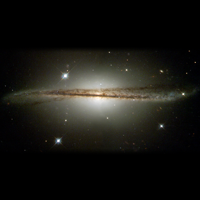 2001: Warped Edge-On Galaxy ESO 510-G13