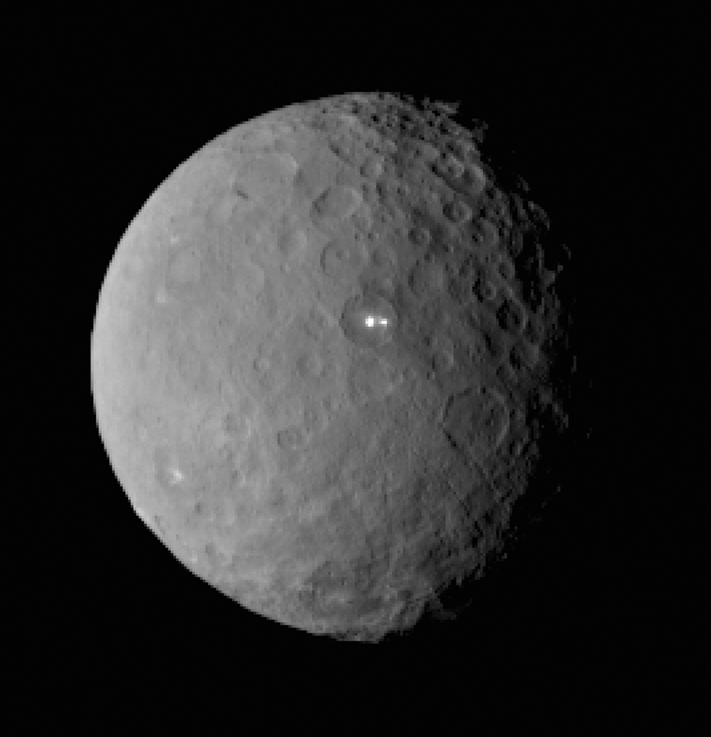 Ceres' Bright Spot Has Dimmer Companion